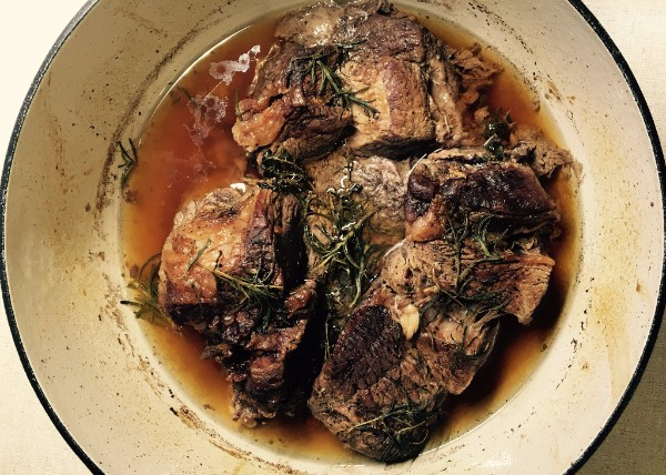 Braised Beef, it's what's for dinner…