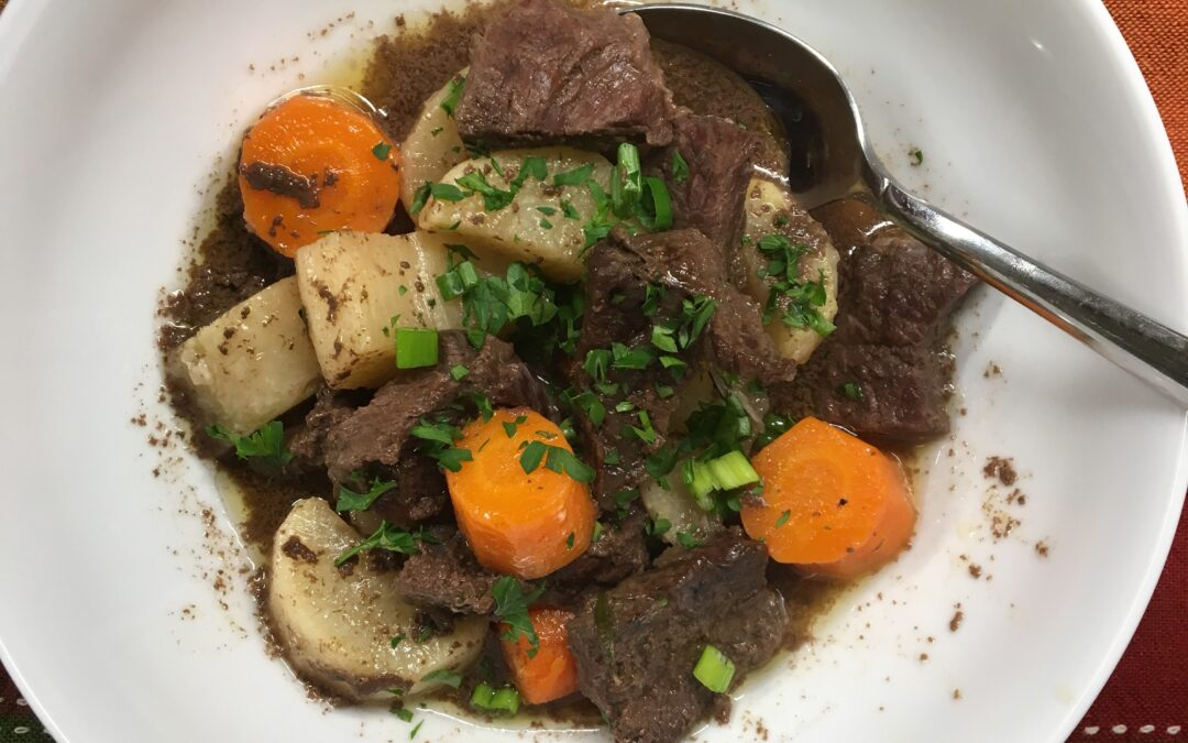 Last Night's Dinner: Low Carb Beef Stew