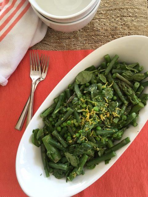 Lotsa Green Stuff Salad