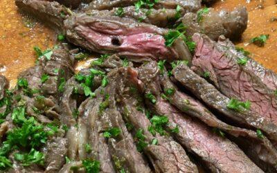 Lemon and Herb Skirt Steak