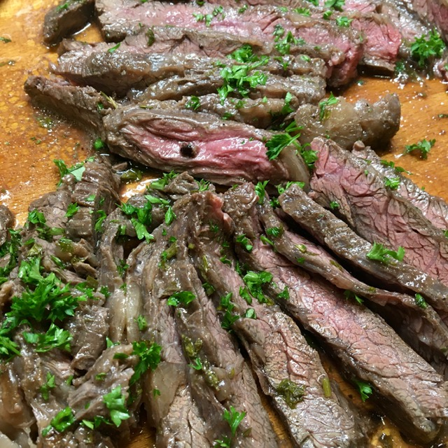 Lemon and Herb Skirt Steak