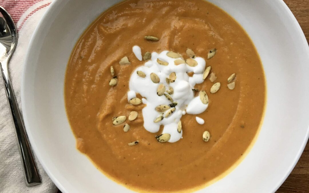 Warming & Zippy Squash Soup