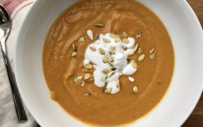 Warming & Zippy Squash Soup