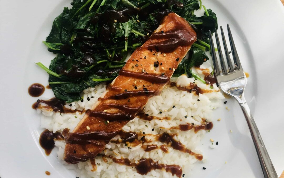 Salmon Teriyaki (Paleo, Restart® friendly, Whole 30 friendly)
